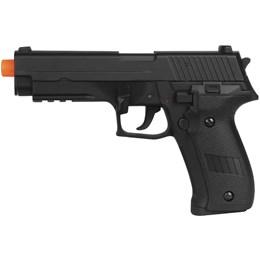 Pistola Airsoft AEP Sig Sauer P226 CM122 com Maleta Case Rossi