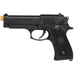 Pistola Airsoft Beretta CM126 AEP com 1000 Munições BBs e Maleta Case Rossi