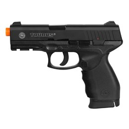 Pistola Airsoft CO2 CyberGun Taurus PT 24/7 394 fps Semi-Automática