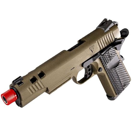 Pistola Airsoft CO2 e GBB SECUTOR RUDIS II Bronze 300 fps 6mm Blowback