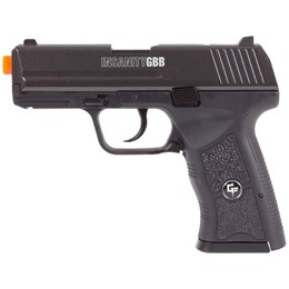 Pistola Airsoft Co2 Game Face GFBBPB Insanity 350 FPS com Blowback