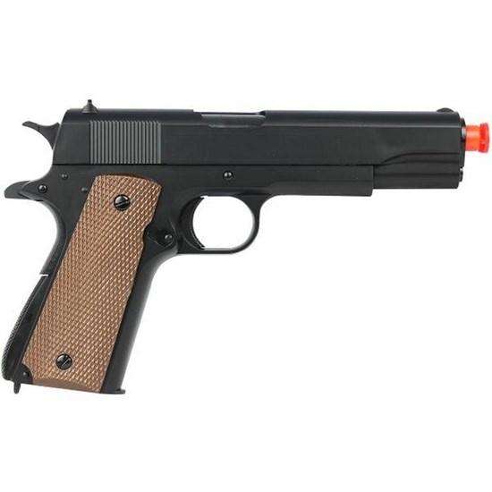 Pistola Airsoft Colt M1911A1 Military 230 FPS - UHC UA-961BH