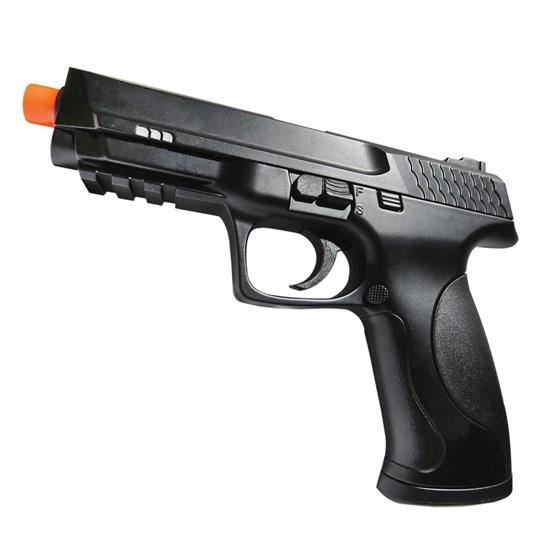 Pistola Airsoft Double Eagle M297A Spring 250 FPS Slide Metal Preto