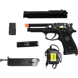 Pistola Airsoft Elétrica Beretta CM126 Full Metal Bivolt + Maleta