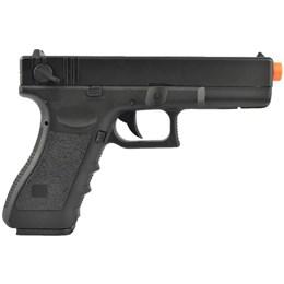Pistola Airsoft Glock G18C Elétrica AEP Bivolt - CYMA CM030
