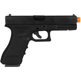 Pistola Airsoft Green Gás Army R17 Blowback até 300 FPS