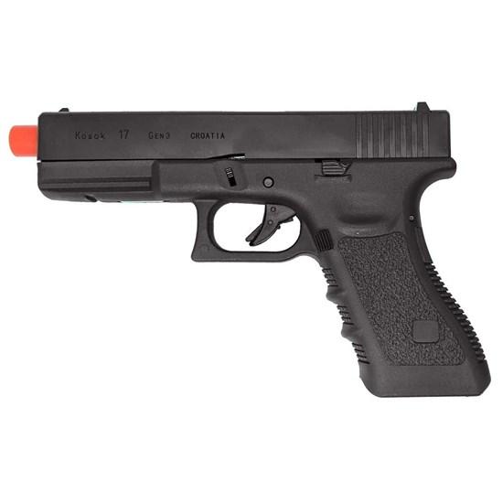Pistola Airsoft Green Gás E&C Kosok 17 Blowback até 330 FPS