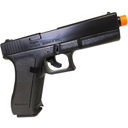 Pistola Airsoft KwC Spring K17 230 fps + BBs 0,12g Rossi 1000 Unidades
