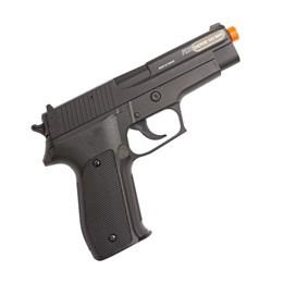Pistola Airsoft Spring 220 FPS com Slide em Metal Sig Sauer P226