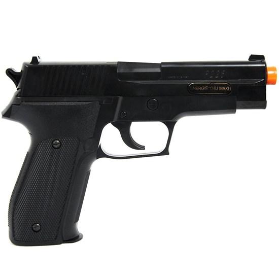 Pistola Airsoft Spring Cybergun Sig Sauer P226 256 FPS Preta