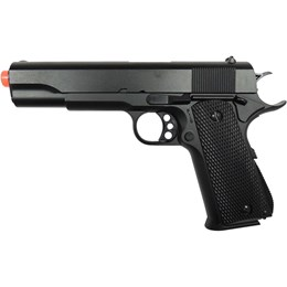 Pistola Airsoft Spring Double Eagle Colt 1911 M295 Full Metal