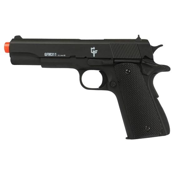 Pistola Airsoft Spring GameFace APGFM311 240 fps Full Metal
