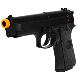 Pistola Airsoft Spring KwC Beretta M92 + 1000 BB's 0,20g + 2 Alvos