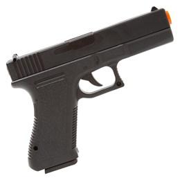 Pistola Airsoft Spring Vigor VG GK-V307 + 2000 BBs 0,12g Nautika + 2 Alvos 1x1 14x14cm