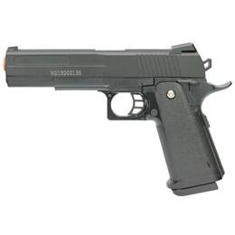 Pistola Airsoft Vigor 1911 V306 Spring 150 FPS Slide em Metal