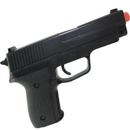 Pistola Airsoft Vigor VG P226 Spring Polímero + 1000 Esferas Plásticas BB Airsoft 0,12g BB King
