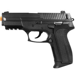 Pistola Airsoft Vigor VG S2022 Spring Polímero + 1000 Esferas Plásticas BB Airsoft 0,12g BB King