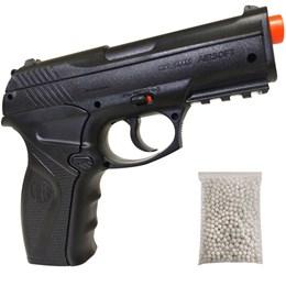 Pistola de Airsoft CO2 Win Gun C11 492 fps 6mm com 500 BB's 0,20g