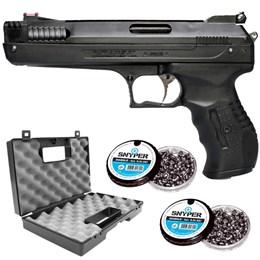 Pistola de Pressão 2004 2405509051 5.5mm com Maleta Case Rossi e 250 Chumbinhos