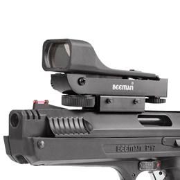 Pistola de Pressão 2006 5.5mm + Red Dot com Maleta Case Rossi e 250 Chumbinhos