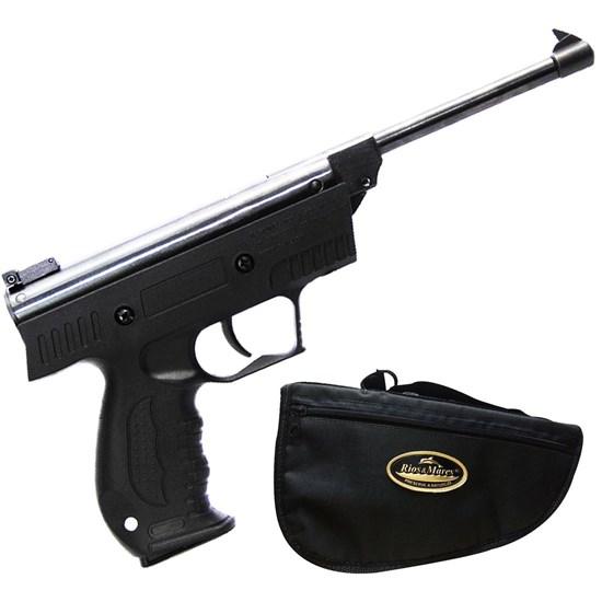 Pistola de Pressão AR+ S3 4.5mm com Case Rios e Mares