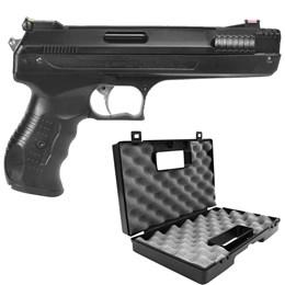 Pistola de Pressão Beeman 5.5mm 300 fps + Maleta Case Rossi Armas Curtas até 28 cm