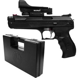 Pistola de Pressão Beeman 5.5mm Red Dot com Maleta Case Rossi