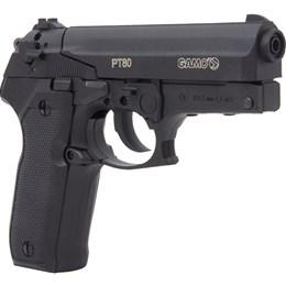 Pistola de Pressão CO2 Gamo PT-80 4.5mm 410 fps Semi-Automática