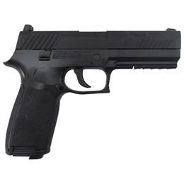 Pistola de Pressão CO2 Sig Sauer P320 4.5mm com Blowback Slide Metal