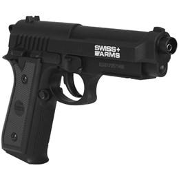 Pistola de Pressão CO2 Swiss Arms SA P92 4.5mm 361 fps Semi-Automática