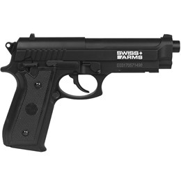 Pistola de Pressão CO2 Swiss Arms SA P92 4.5mm 361 fps Semi-Automática