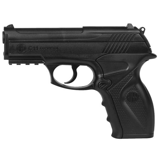 Pistola de Pressão CO2 Win Gun C11 4.5mm 410 fps Semi-Automática