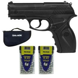 Pistola de Pressão CO2 Win Gun C11 4.5mm + 600 Esferas + Capa