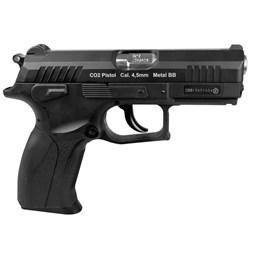 Pistola de Pressão CO2 Wingun W129 Slide Metal Blowback 4.5mm