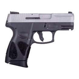 "Pistola Taurus G2C Calibre .40 S&W Cano 3.26"" Capacidade 10+1 Inox Fosco"