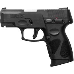 """Pistola Taurus G2C Calibre 9mm Cano 3"""" Capacidade 12+1 Carbono Fosco"""