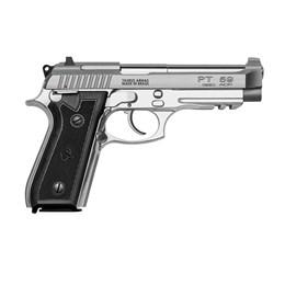 Pistola Taurus PT59S Calibre 380 ACP Cano 5.1 Polegadas em Inox Fosco com Zarelho