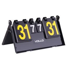 Placar de Mesa Multi Esporte 7 Sets 31 Pontos em PVC Rígido - Vollo VT606