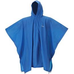 Poncho Capa de Chuva EVA Adulto 15mm Azul 100% Impermeável - Coleman