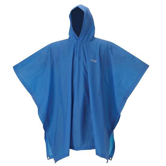 Poncho Juvenil Capa de Chuva 15mm Azul 100% Impermeável - Coleman