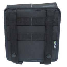 Porta Carregador de Fuzil Duplo Modular Cia Militar em Nylon CM2012