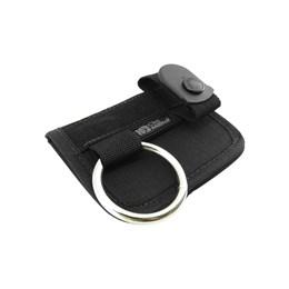 Porta Cassetete Tonfa Cia Militar com Passador de Cinto Preto