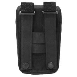 Porta Celular Cia Militar Modular Preto com Passador de Cinto