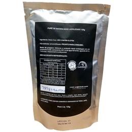Prato Rápido Liofilizado Liofoods Sabor Pure de Batata Doce Rende 2 Porções