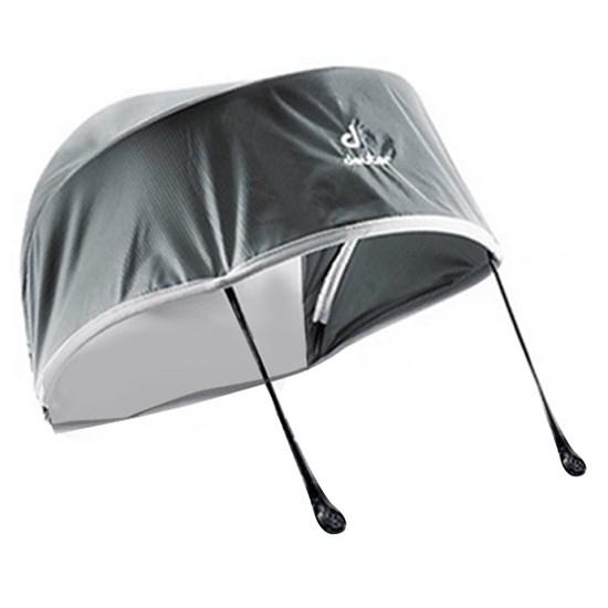 Proteção Sun & Rain Cover para Mochila Kid comfort Preto e Cinza - Deuter