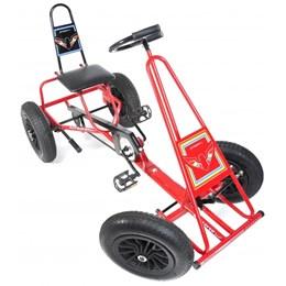 Quadriciclo Infantil Altmayer AL-118 com Pneu a Câmara de Ar Vermelho