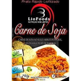 Refeição Liofilizada 1 Porção Liofoods Kit Carne de Soja ao Sugo