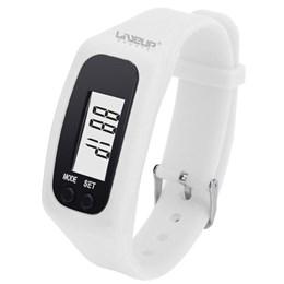 Relógio Pedômetro Contador de Passos Liveup + Bolsa Térmica Contusão Relaxmedic