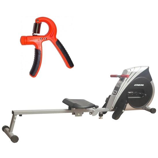 Remo Seco Semi Profissional Tipo Concept + Hand Grip Mola Ajustável de 10 a 40kg