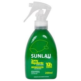 Repelente Sunlau Com Icaridina Sob Roupas 200 ml